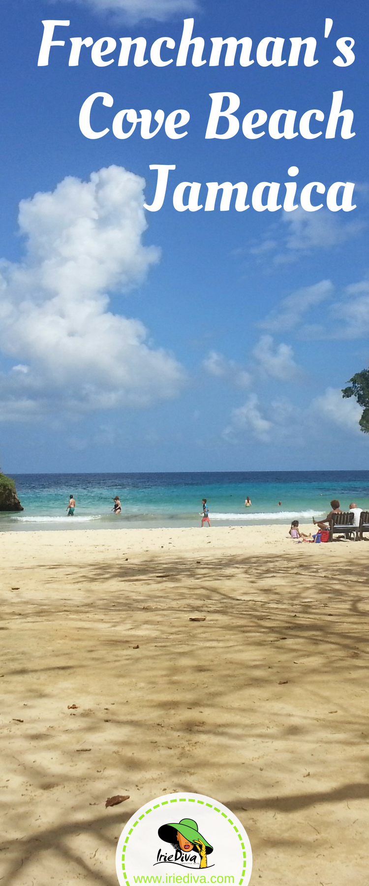 Frenchman's Cove Beach and Resort in Portland Jamaica. Arguably the best beach on the north-east coast.