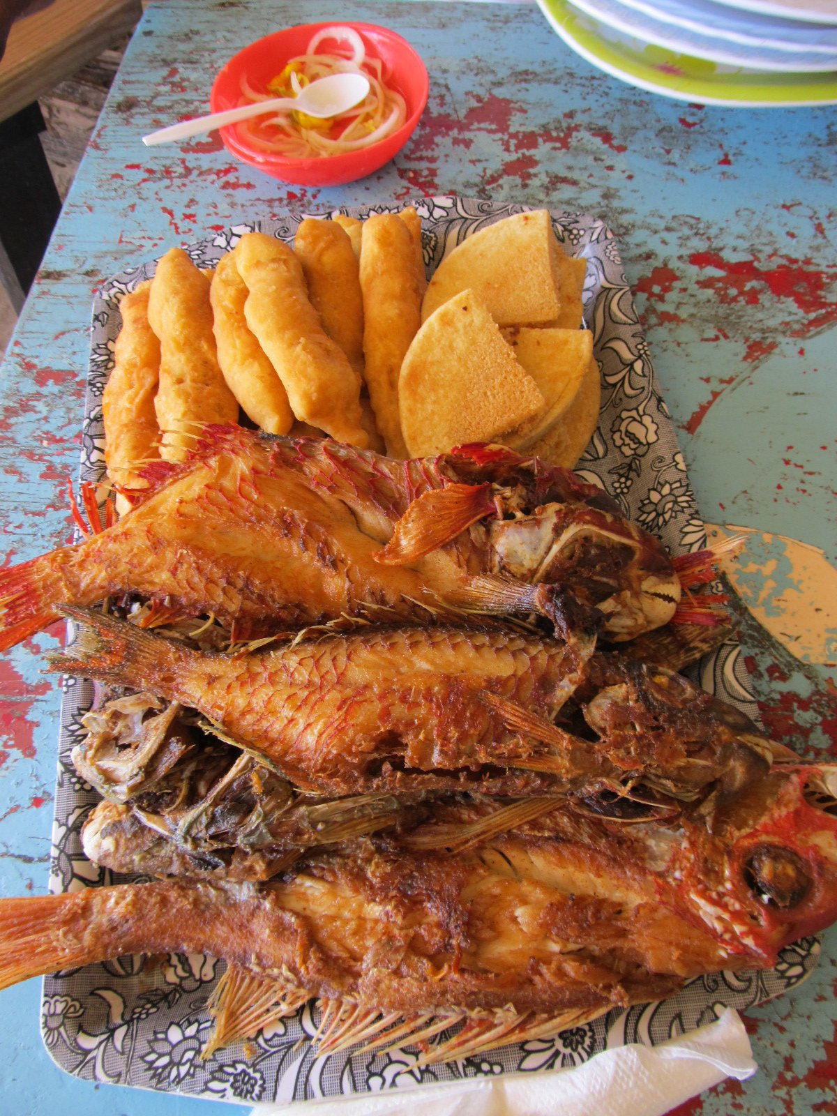 Fish and festival at Helshire Beach, a staple to a Jamaican
