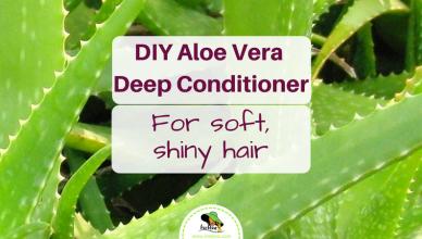 DIY Aloe Vera Deep Conditioner Hair Treatment