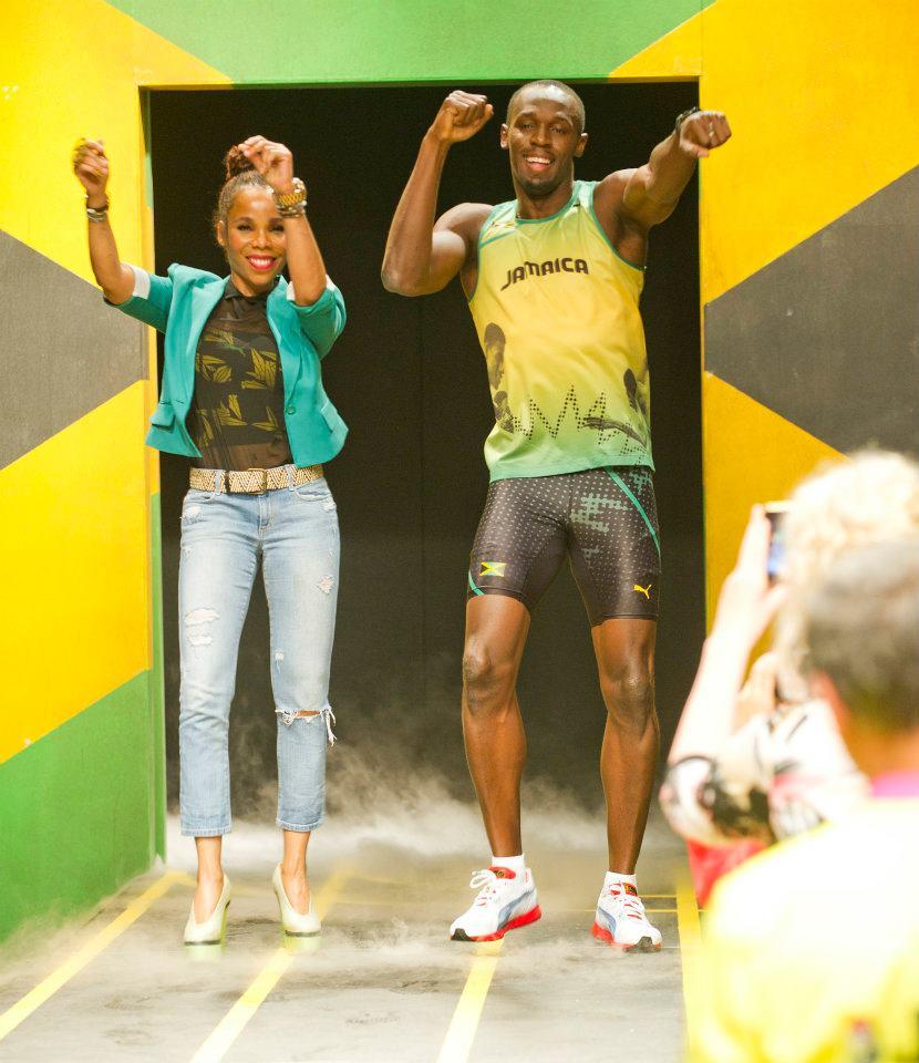 Cedella Marley Designs Puma Olympic Apparel For The