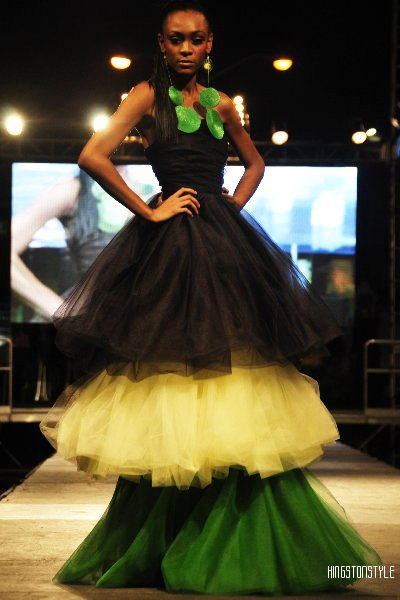 Donna Rose celebrates Jamaica 50 at Style Week Jamaica