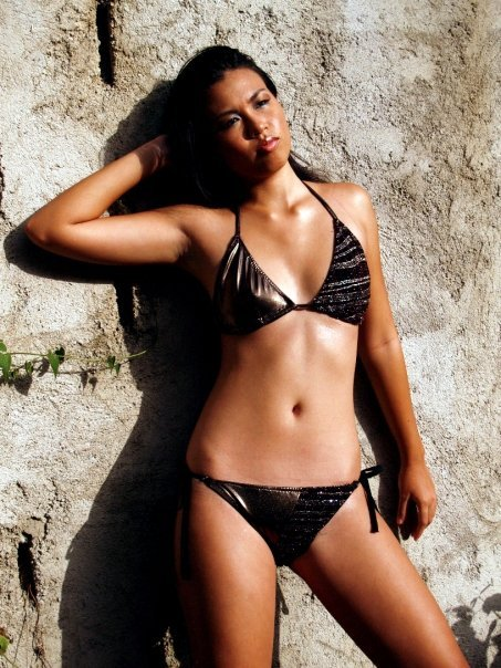 Jamaican fashion designer Solaris Swimwear
