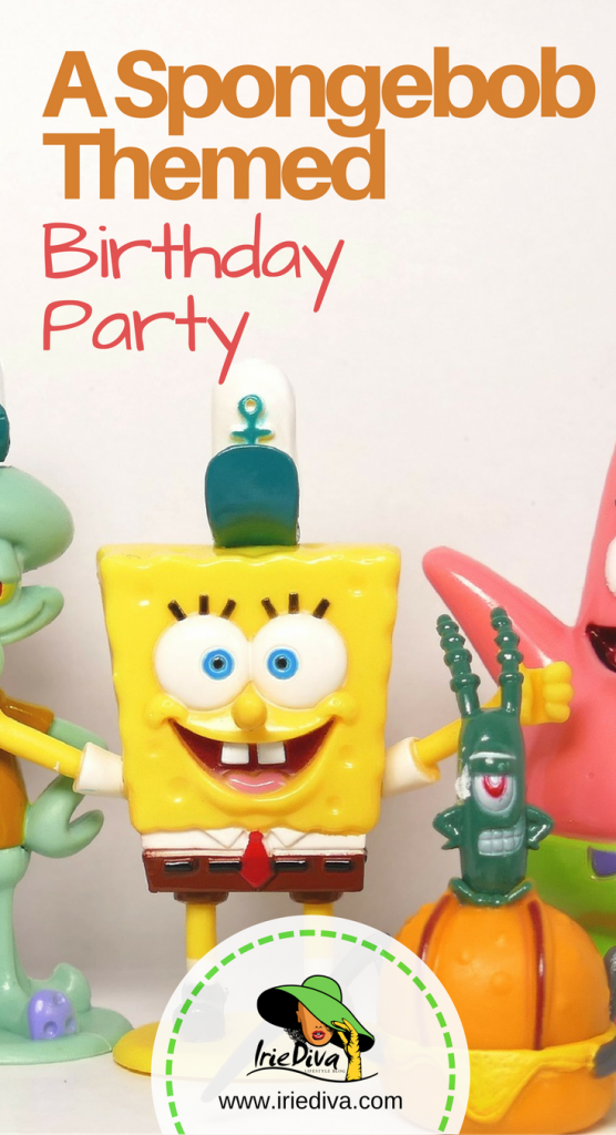 Spongebob games birthday party