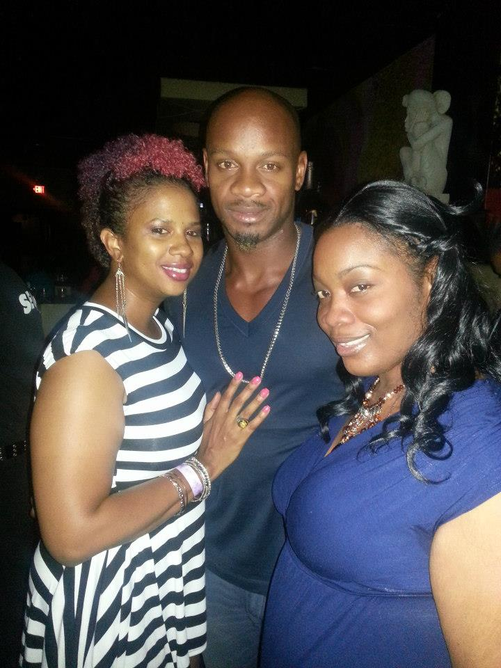 Asafa Powell and IrieDiva