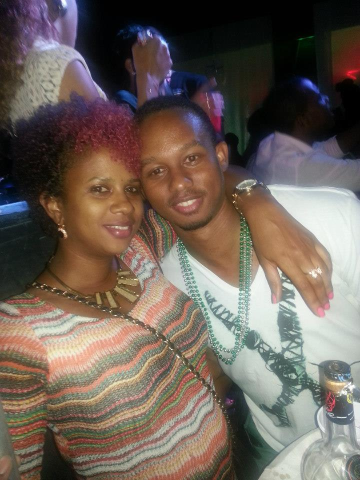Michael Frater and IrieDiva