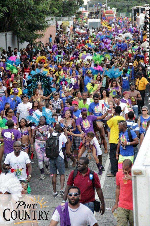 Bacchanal Jamaica Carnival 2013