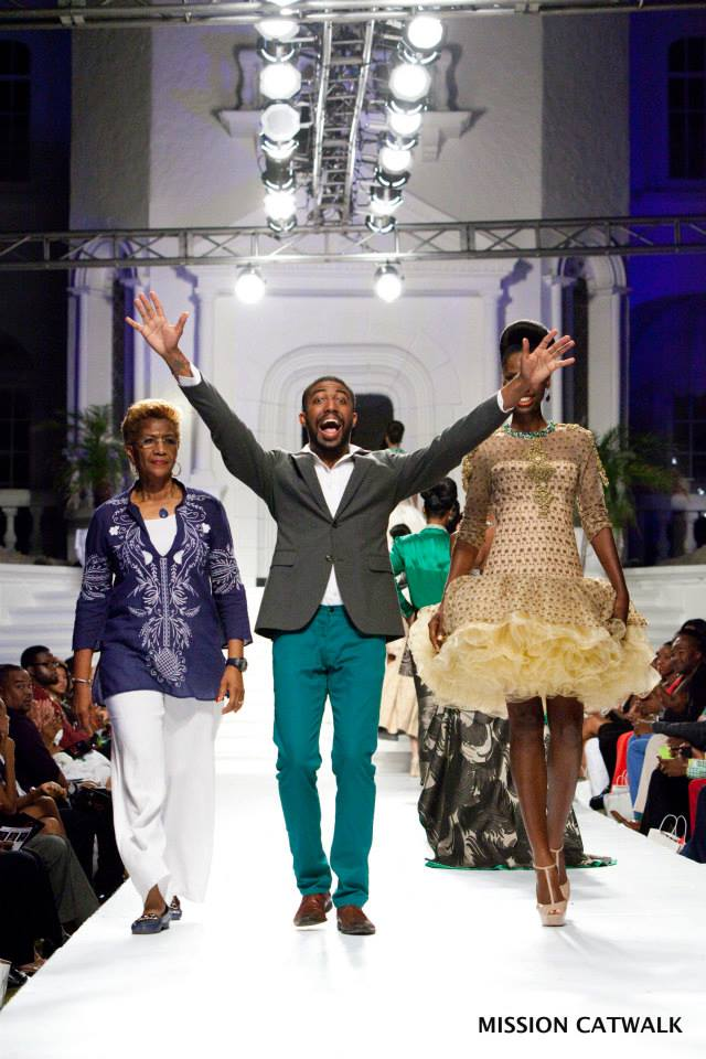 Theodore Elyett wins Mission Catwalk 2013