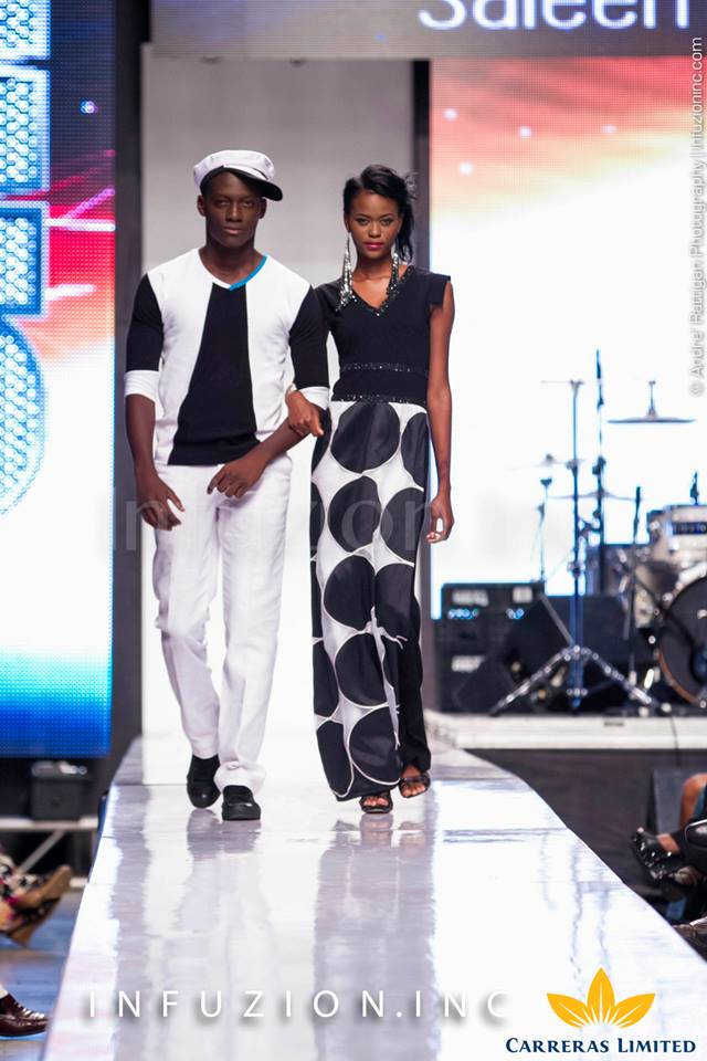 Saleem Samuels - Caribbean Fashion Week 2013