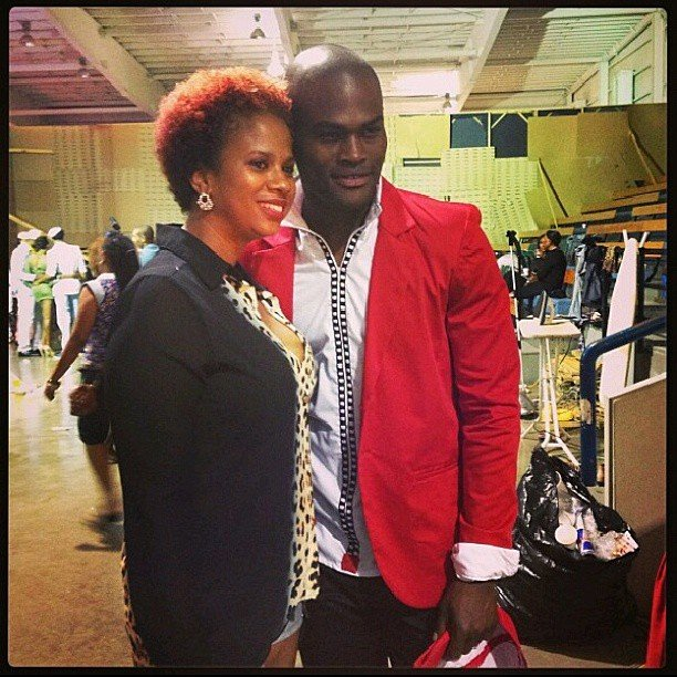 IrieDiva and Supermodel Oraine Barrett at CFW 2013