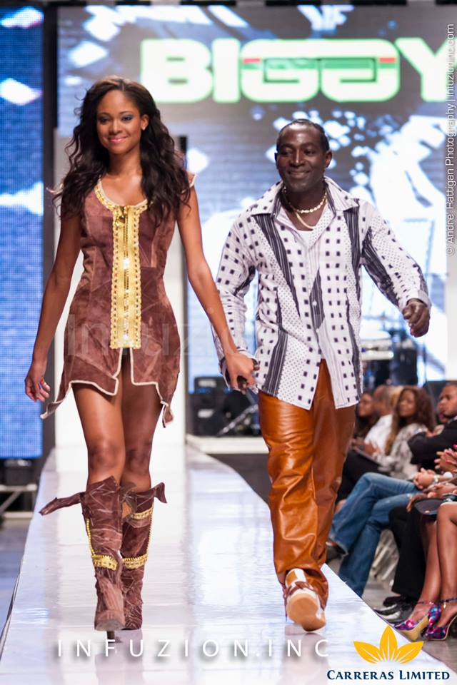 Biggy at Caribbean Fashion Week 2013