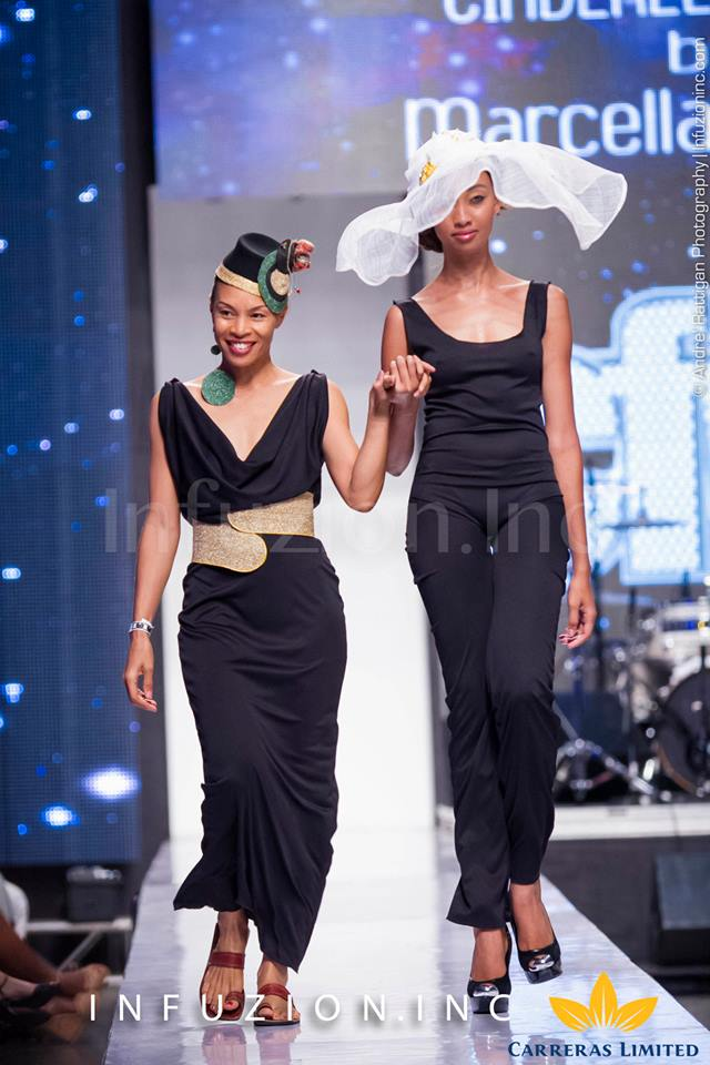 Cinderella Hats at Caribbean Fashion Week 2013