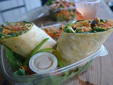 Toss andRoll, new salad bar in Kingston Jamaica