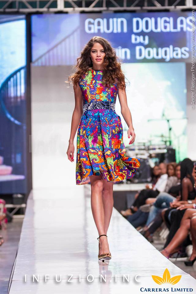Gavin Douglas at Caribbean Fashion Week 2013