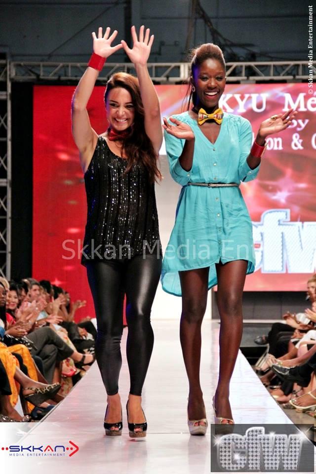 Kesi Gibson & Ozge Turan - Kyu Melange - CFW 2013