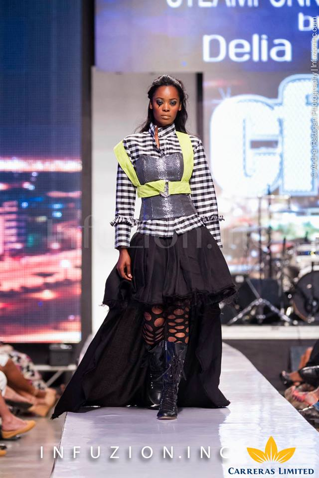 Steampunk Revolution by Delia Alleyne - Caribbean Fashion Week 2013