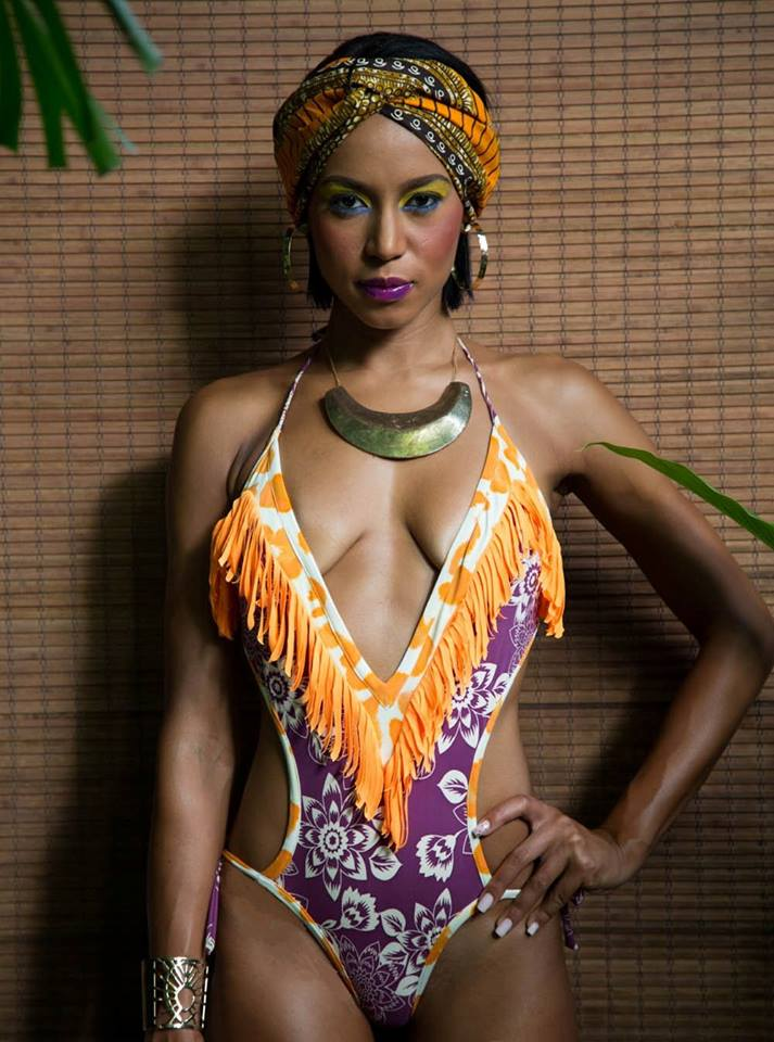 Ocean Floor collection by Jamaican designer Jae Jolly