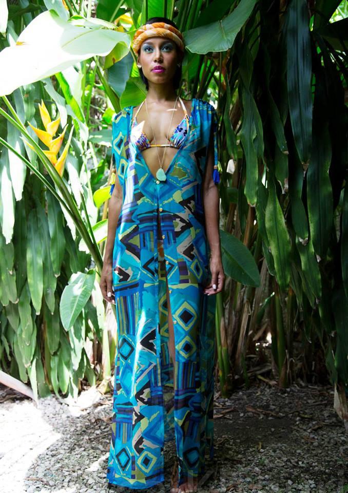 Jamaican Fashion Design Ocean Floor By Jae Jolly
