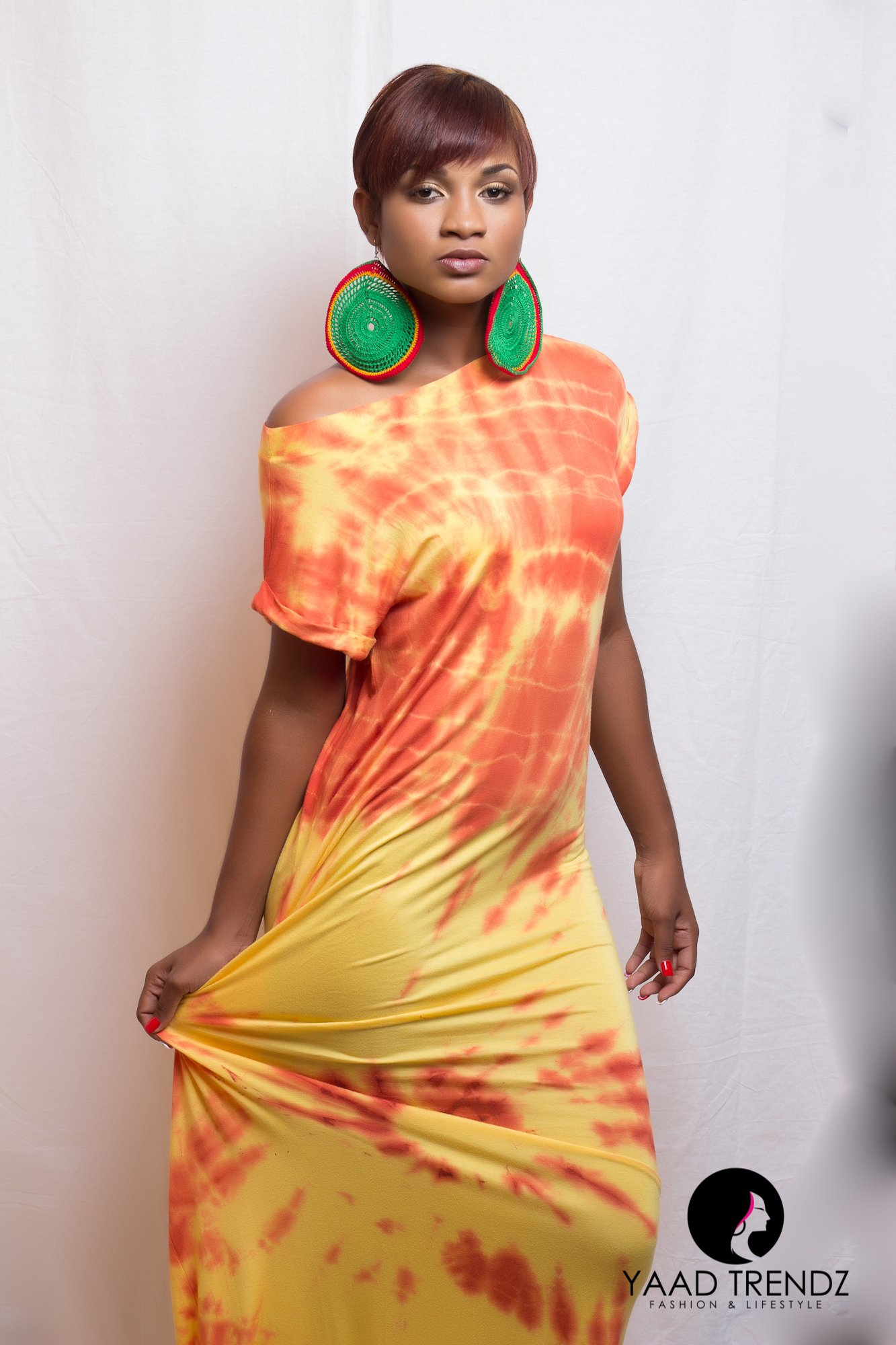 The Summer Paradise collection by Jamaican Design House Yaad Trendz