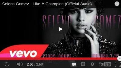Selena Gomez - Like a Champion Video