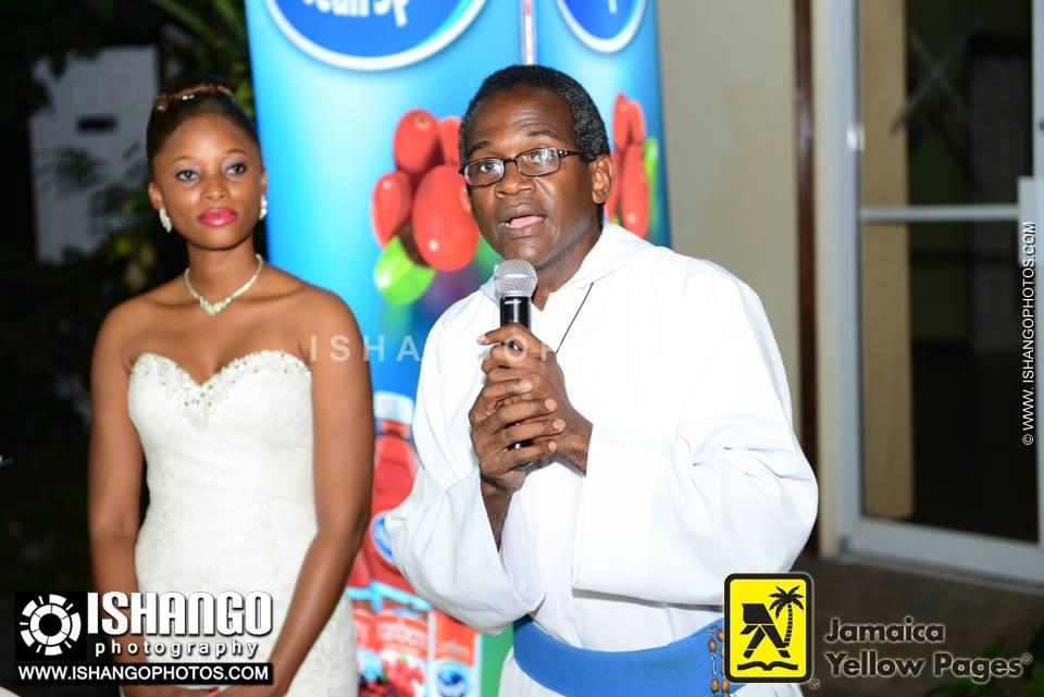 Father of Holy Innocents Home speaks at the Kingston Bridal Week 2013 launch