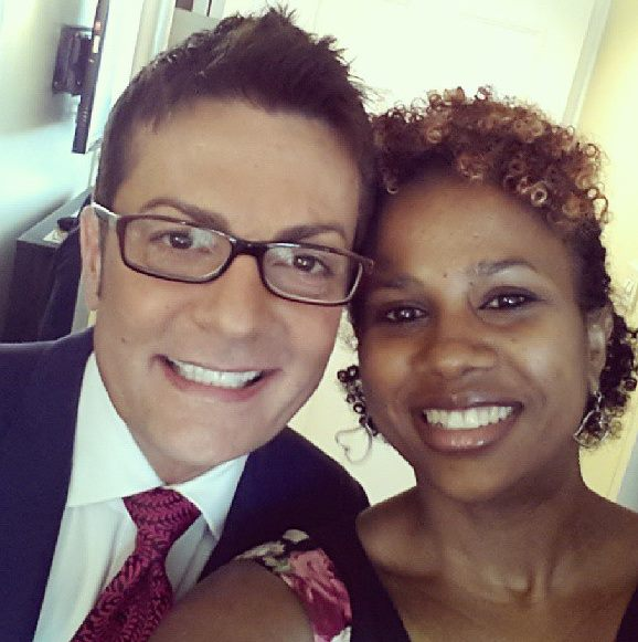 IrieDiva and Randy Fenoli