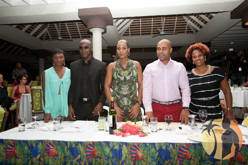 Mr. Caribbean International 2013 judges