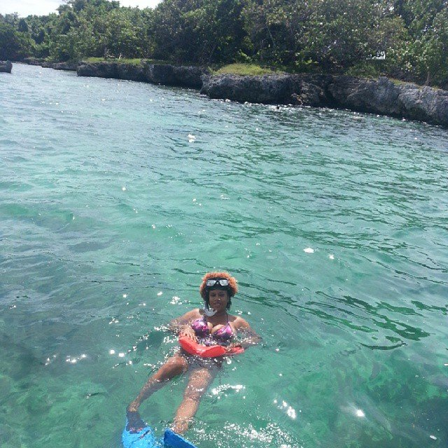 snorkeling at hedonism 2