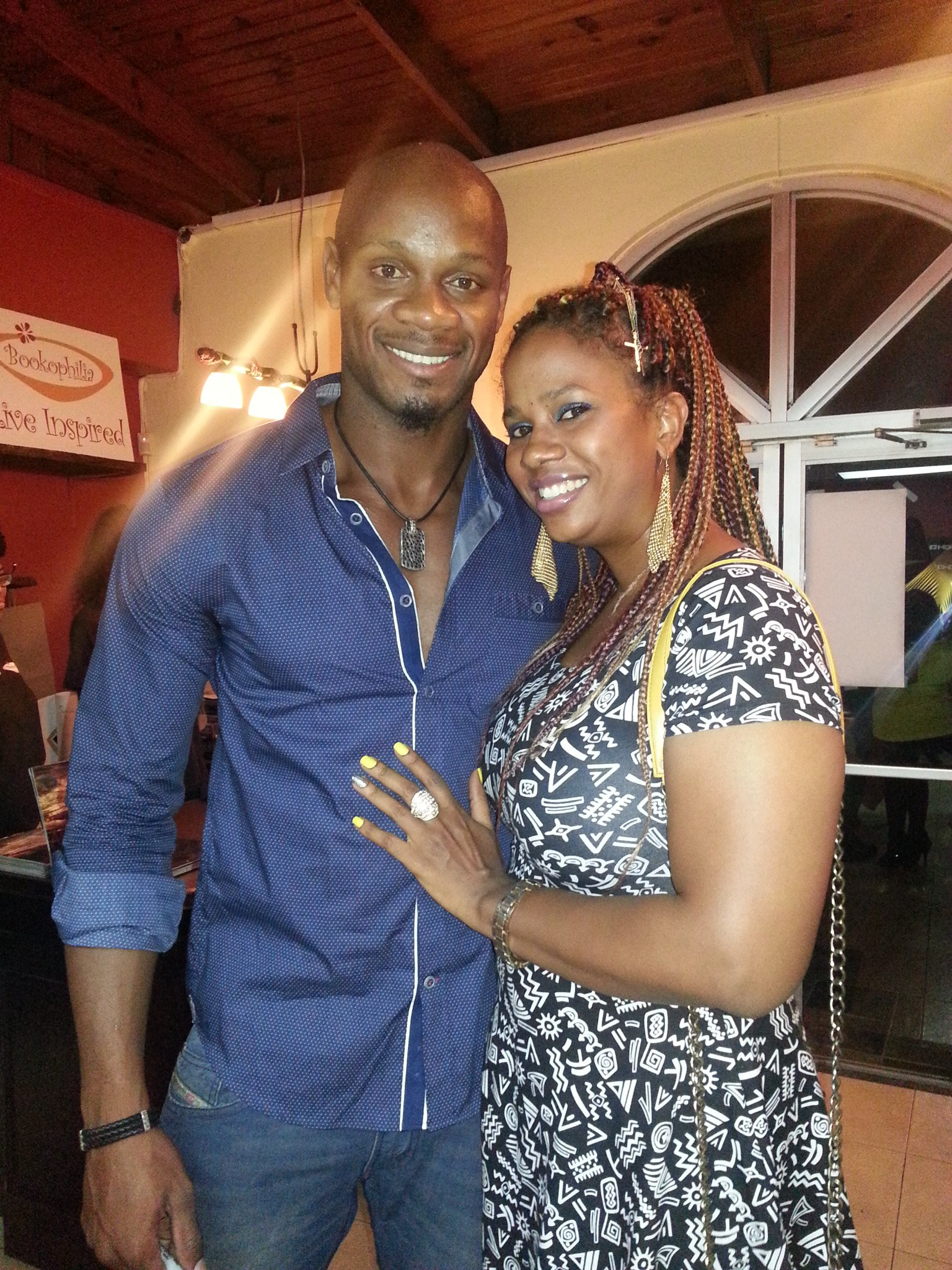 IrieDiva and Asafa Powell