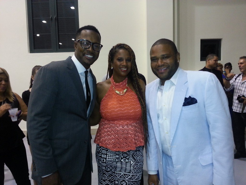 IrieDiva with Flex Alexander and Anthony Anderson