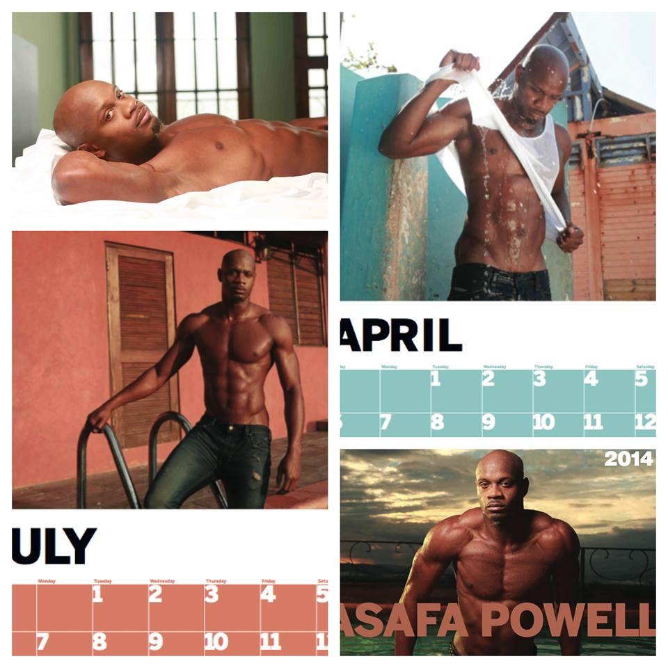 Asafa Powell Calendar