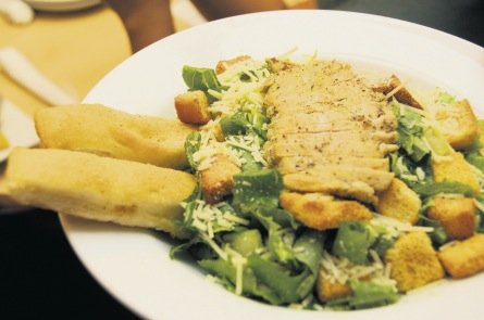 Pizza Hut Jamaica Chicken Caesar Salad