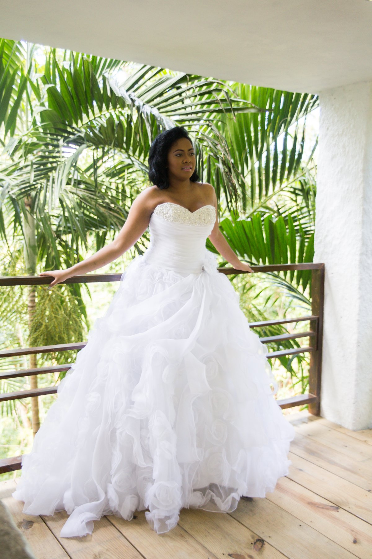 traditional jamaican wedding dresses