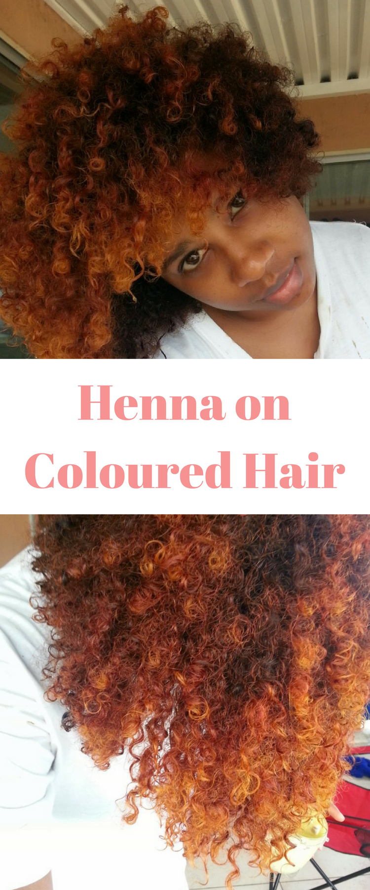 Henna treatment for hair that was previously coloured chemically. Henna is awesome on natural hair, see the benefits of henna and give this tutorial a try.