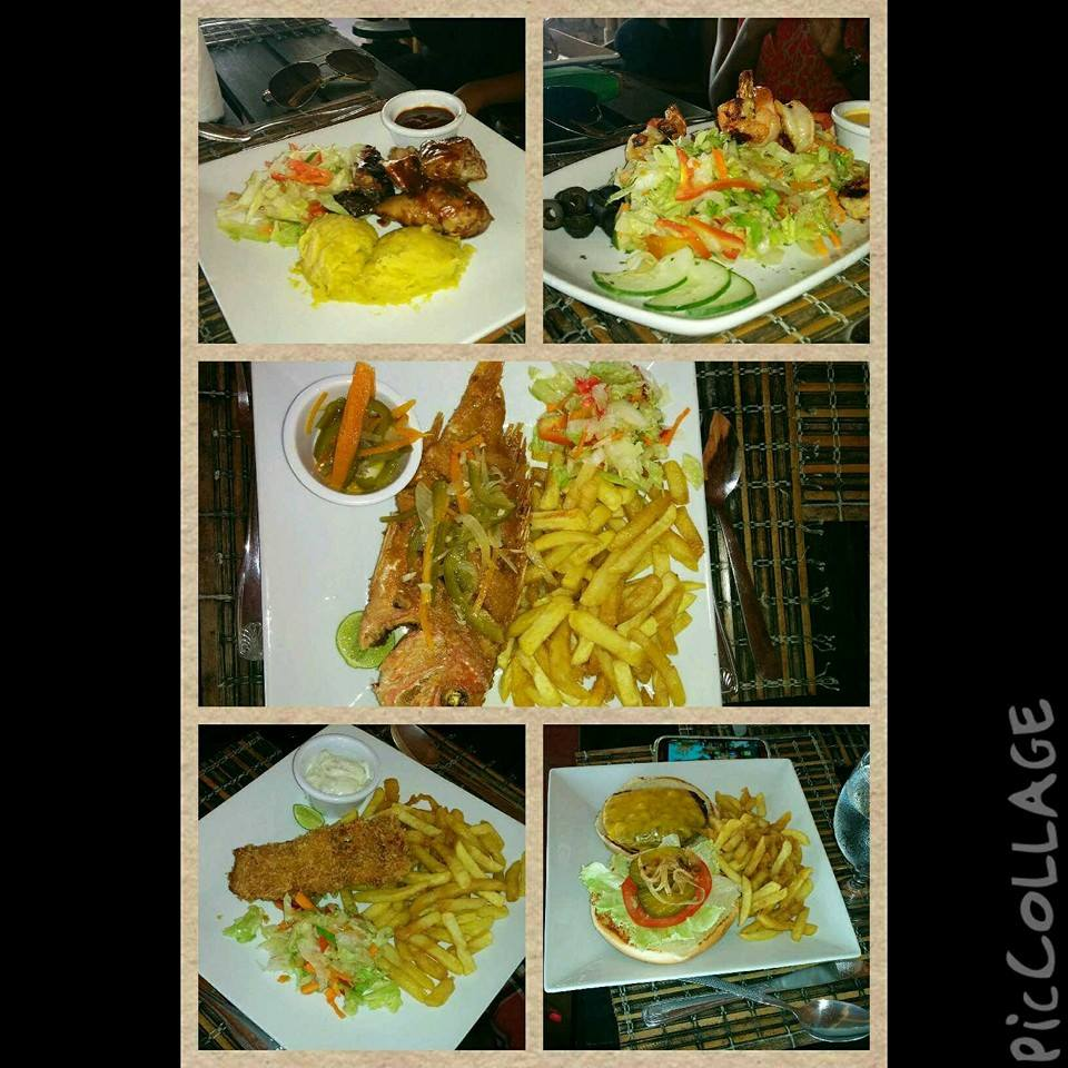 Food from Bamboo Blu Jamaica