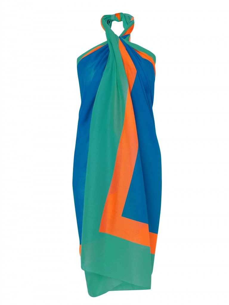 A Sarong by British Designer Jonathan Saunder available at Sensatori Negril