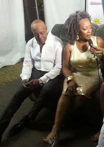 Regina Belle and Peabo Bryson