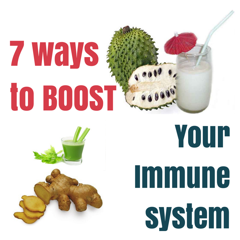 7 ways to boost immune system