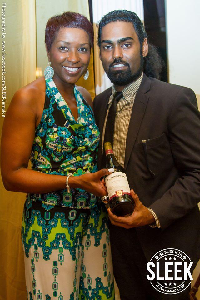 Wine Lady Debra and Stephen Charoo