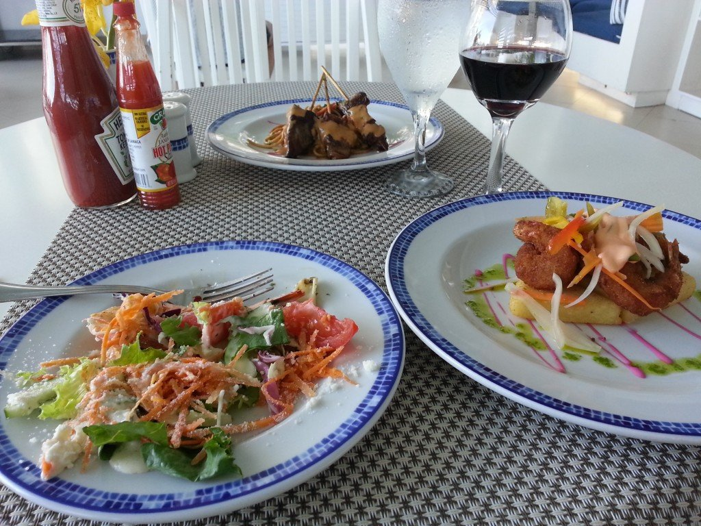 Secrets Resort Montego Bay food