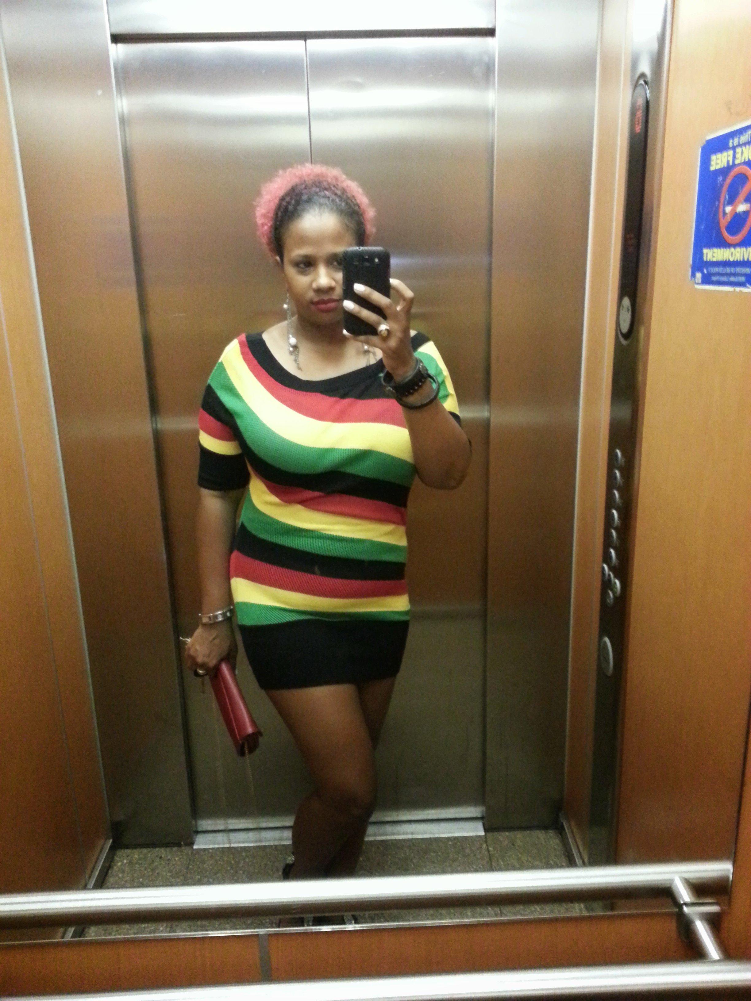 OOTD: Rasta Vibrations + Rihanna's Barbie Cake Dress