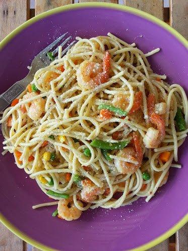 Fish Pot Shrimp Pasta