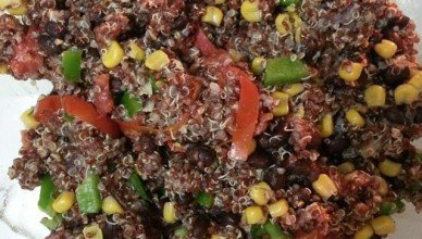 Blackbean and Quinoa Salad
