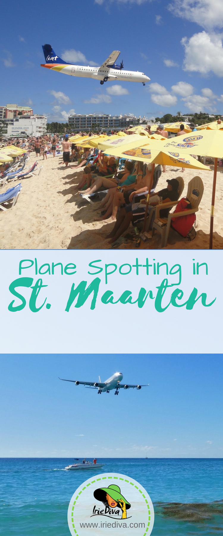 Plane spotting in St Maarten for an 8-hour layover there. The beach is right by the airport so the planes land insanely close to the sunbathers right below!