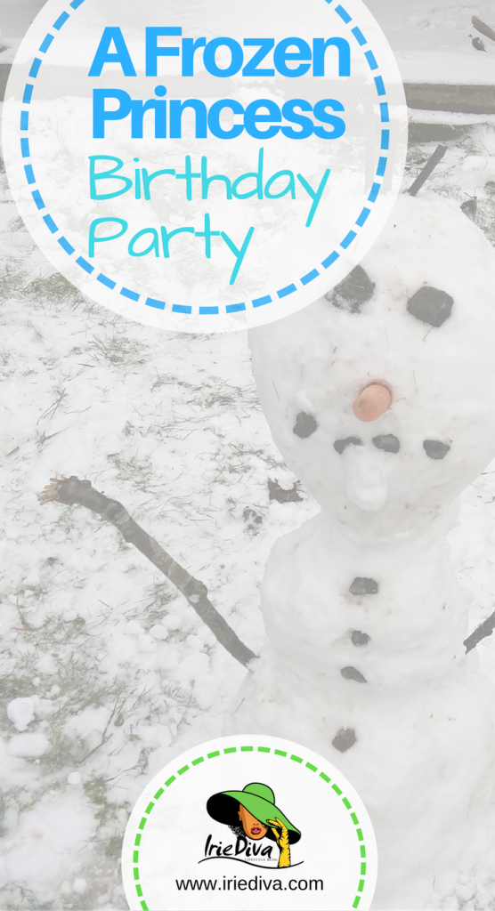 A Disney Frozen theme party for a 5 year old princess. Get all the decor, games and gear, here!