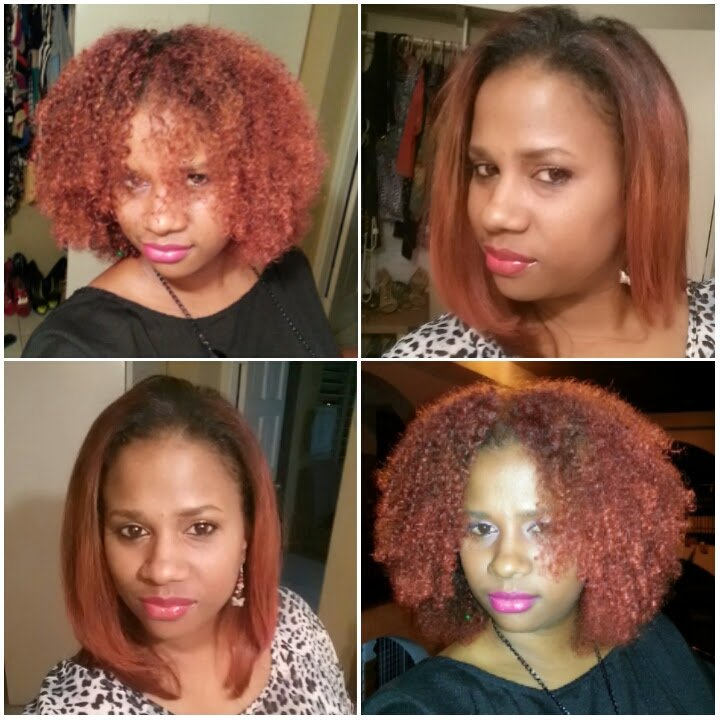 Natural Hair Blowout Before And After Products Maintenance Tips