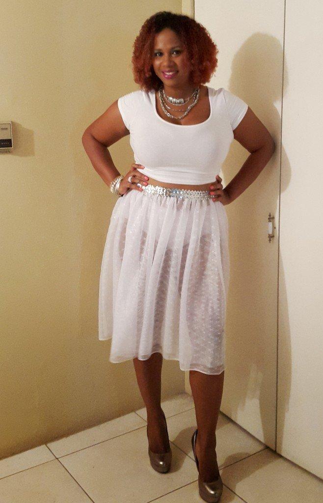 IrieDiva White Style, Style Week Jamaica 2015