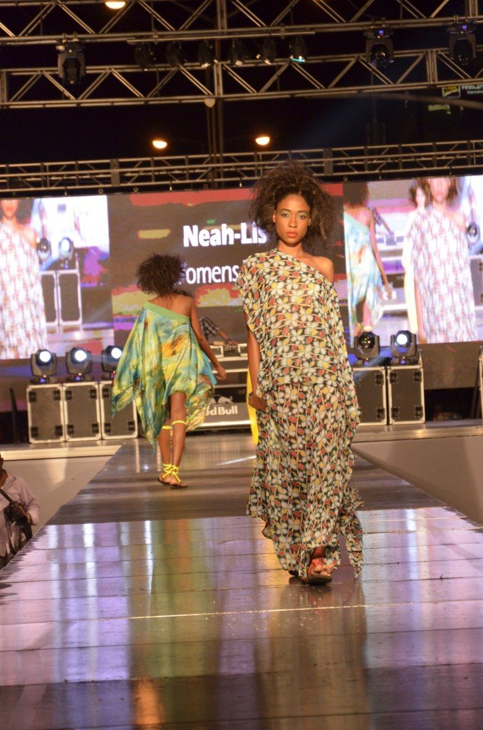 Neah-lis, Jamaican Fashion Designer at Style Week 2015
