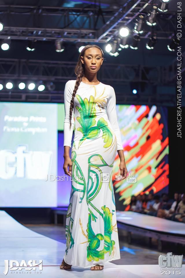 Fiona Compton's Paradise Prints at Caribbean Fashion Week 2015