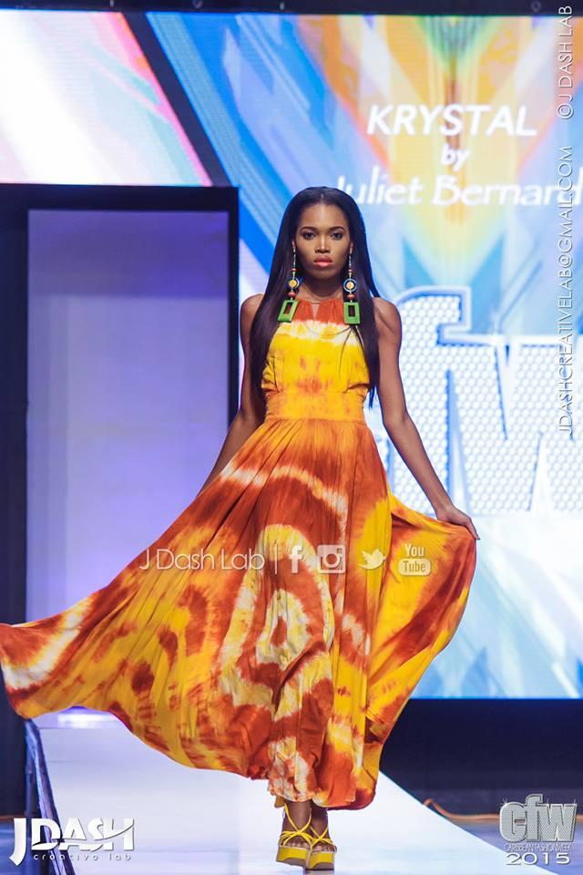 Krystal's Designs by Juliet Bernard at Caribbean Fashion Week 2010