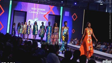 Yesa Designs by Cassey Daniel at Caribbean Fashion Week 2015